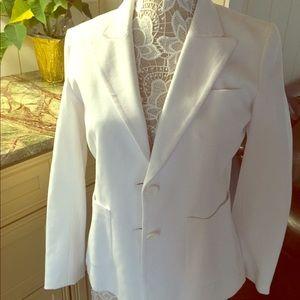 Spiegel white blazer